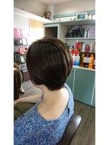 ヘアサロンアンドリラクゼーション マハナ(Hair salon&Relaxation mahana)大人女性にオススメ!ショートボブ