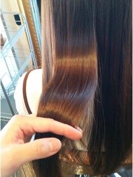 """ソティラス(Hair Salon Sotiras)の写真/毛髪補修ならおまかせ!Sotiras自慢の""""ヘアエステ""""一度でやみつきになること間違いなし★"""