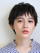 【M.SLASH】黒髪マッシュショートa