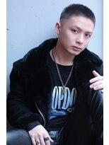 【IRIE HAIR赤坂】オシャレボウズ×フェード×ハイトーンカラー