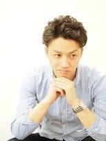 フラムリングス麻布(Framlings azabu)メンズ☆ツーブロック×パーマ×リーゼント