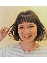 ヘアドレッサー ミアン(HAIRDRESSER MIEN)ゆるふわエアリーボブ☆【稲毛】