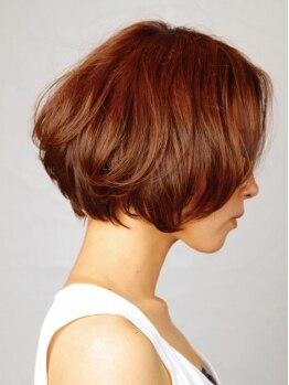 ヘアーブルーム(hair bloom)の写真/圧倒的ショート・ボブ人気!お客様の50%がショートスタイルへchange!技術の高さが重要なショートなら[bloom]