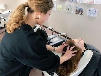 浪漫館 アプリーレ(APRILE)の写真/日本人の髪に合わせたスパmenuを「スパニスト」がオーダーメイドで施術☆まずはお試し炭酸スパもあります!