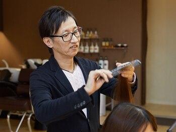 ビューティーガーデン エナジーの写真/【クセ毛を美髪にしたい方に】お悩みに合わせた薬剤と技術力で、思わず触れたくなるナチュラルな仕上がり♪
