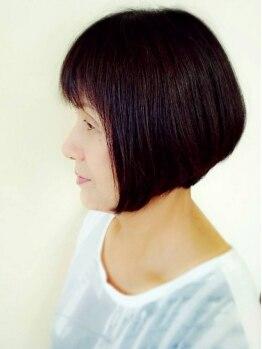 """美容室プラザ 王寺店の写真/髪や地肌・なりたいイメージに合わせ、ダメージの少ないカラーを提案☆オーダーメイドの""""似合う""""カラーへ♪"""