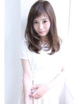 【Rose】眉上バング×ガーリーセミディ★