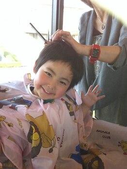 ニーチェ(Ni-Che)の写真/忙しいママでもキレイでいたい!!子育ての合間で通えるお子様同伴OKサロン◎女性スタイリストが担当☆