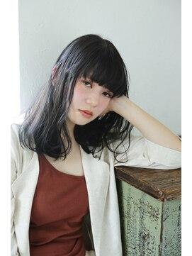 小松菜奈風】黒髪厚めバングスタイル☆:L036417386|ルカ リノア(Luca lino:a)のヘアカタログ|ホットペッパービューティー