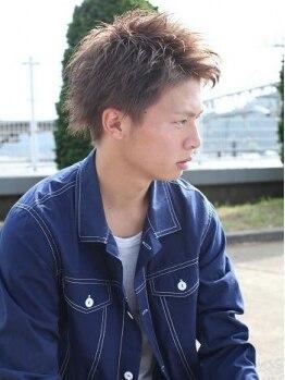 クレア 茅ヶ崎(CREA)の写真/【茅ヶ崎駅徒歩30秒】メンズカット¥2910☆男性スタイリストが多いので初めてでも緊張しない♪