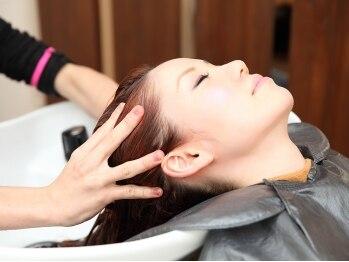 ヘアメイク クリア(hair make clear)の写真/早くも人気☆お手頃価格で本格ヘッドスパ☆髪本来の美しさに導きます。日頃の疲れをスッキリしましょう♪