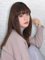 テラスラックスビー 阿倍野アポロ店(TERRACE LUXBE)重ためワンレングスロング☆