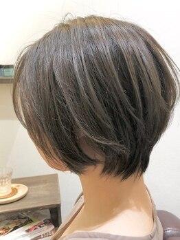 ロイヤルヘアー(ROYAL HAIR)の写真/【別府餅ケ浜】ロングから『新しい自分と出会える』オトナ可愛い上質なショートヘアへ!美フォルムが叶う◎