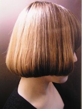 ヘアポート リファイン 清瀬店の写真/~カット~シンプルなのに無限大。1人1人の髪質を理想のスタイルへ導いてくれる。自宅での再現性の高さも◎
