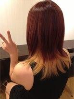 ヘアメイク オブジェ(hair make objet)セクションカラー