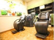 薔薇の部屋の雰囲気(オートシャンプーで頭皮の汚れをしっかり洗い流します!)