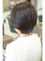【D&T hair 大手町店】 オトナ・ミセス・ショート・ボブ