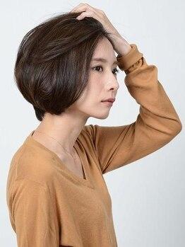 アース 浦和店(HAIR&MAKE EARTH)の写真/浦和◆最新【アドミオカラー】艶出し成分と植物性オイルが均一に分散・付着して美しく艶やかな髪に♪