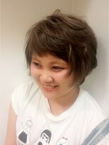 ヘアーアンドメイク ポッシュ 日暮里店(HAIR&MAKE POSH)ファニーショート