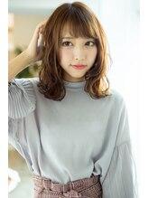 ヘアアンドネイル ドンナ 葛城(DONNA)【DONNA 】 8トーンアッシュベージュ☆無造作カール