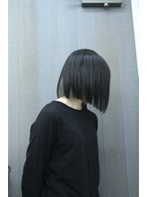 スペースヘアデザイン(SPACE hair design)パッツンボブ