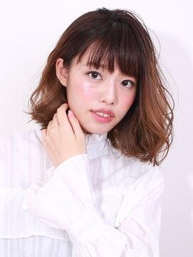 ブラン(Blanc)☆大人女性オススメ☆ほつれボブ×高明度アッシュ