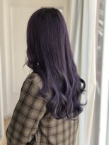 ビーヘアサロン(Beee hair salon)地毛と完全に馴染むカラーとエクステ☆渡部まさみ