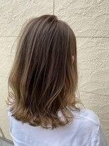 ヘアーシー(HAIR C,)ふんわり透明感のこなれハイライトベージュ◎