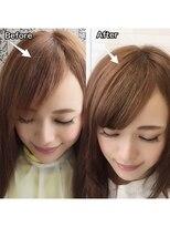 ヘアーグランデシーク(Hair Grande Seeek)【お悩み解決】シールエクステで前髪イメチェンしませんか??