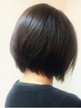 ヘアルーム珠杏の写真/<気になる白髪をしっかり染めたい方>に選ばれ続ける技術力。ダメージレスかつ丁寧に塗り分けます。