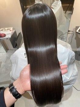 リラエ(Lyrae)の写真/カウンセリング~仕上げまで一人のスタイリストが担当♪髪質やダメージを見極めて最適なメニューをご提案♪
