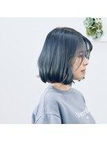フォルカ ドゥ ヘアドレッシング(FORCA deux hairdressing)ボブ ブルーブラック