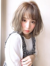 アグ ヘアー ミーア 高円寺店(Agu hair mire)大人かわいいショートボブ ひし形 小顔