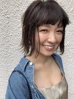 【櫻井 聖】お洒落に決まる外ハネショートミディアム