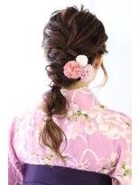 ヘアリゾート ブーケ(hair+resort bouquet)卒業式★編みおろしアレンジ