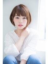 アンアミ オモテサンドウ(Un ami omotesando)【Unami】 小倉太郎 大人女子お手入れ簡単ショートボブ