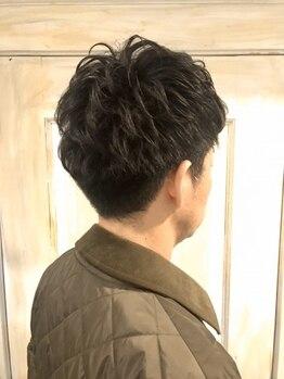 ノディーヘアー(NODDY hair)の写真/【四条烏丸5分】フォーマルにもカジュアルにも。シーンによってオンオフ可能な遊び心交えたヘアを。