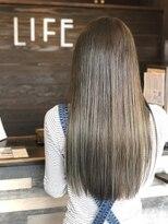 ヘアー メイク スタジオ ライフ(HAIR MAKE STUDIO LIFE)シースルーカラー