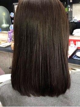 ハッピーハウス(HAPPY HOUSE)の写真/100%天然由来の高級薬剤を使用したオーガニックカラーで、ダメージを与えず弾力と艶のある美しい髪に◎