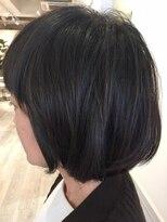 ヘアー カラー キー(HAIR color KEY)簡単スタイリング・ツヤボブ