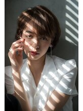 ヘアーメイクワン 横浜(hair make ONE005)スタイリング簡単!エアリーショート