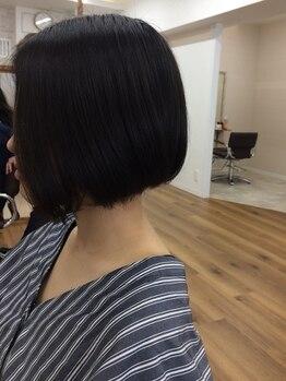 """ラポールヘア 江戸川橋店の写真/女性のカットは""""ラポールヘア""""にお任せ♪あなたの骨格・髪質・なりたいイメージを丁寧にカウンセリング!"""