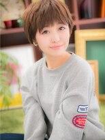 *+COVER HAIR+*…CUTEに★マッシュショートa