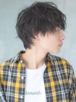 ロッソ ヘアアンドスパ 草加店(Rosso Hair&SPA)の写真/カットだけで魅せる。クセや髪質、骨格を見極めて計算したカットはミリ単位で繊細に仕上げてくれる[草加]
