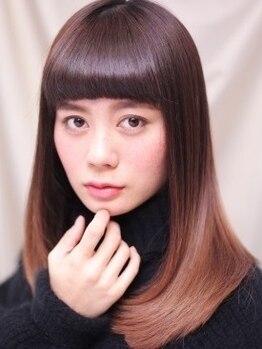 パルバ(PARVA)の写真/シアバター+コラーゲン+マイナスイオン*髪に優しい成分満載!PARVAの艶のある柔らかいストレート♪