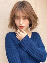 《Agu hair》大人かわいいエアリー質感ミディ