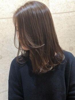 リアンバイアリュール(Lian by Allure)の写真/[デザイン縮毛矯正+カット+トリートメント¥13400]クセやうねりが気になる方に!梅雨時期もまとまる髪へ☆