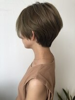 ガーデン ヘアーアンドボタニカル(Garden hair&botanical)【ショートスタイル】くびれショート