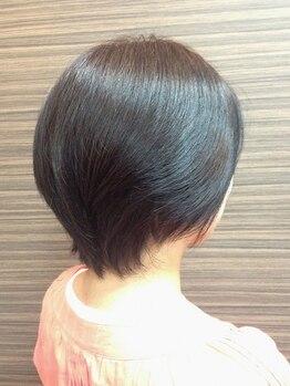 ステビア(STEVIA)の写真/[ハイトーンハーバル]《ファッションカラー感覚のグレイカラー》大人女性の髪を鮮やかに美しく染めてくれる
