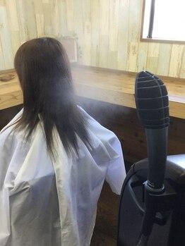"""美容室 パルミエ(Palumie)の写真/クセのお悩みはぜひ""""Palumie""""へ♪髪質改善が出来る縮毛矯正★貴女の髪にプレミアムな輝きと艶をプラス…◇"""